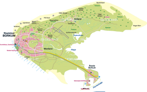 Borkum-Luftaufnahme